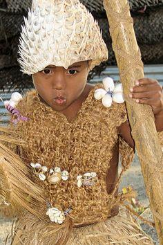 A Kiribati boy