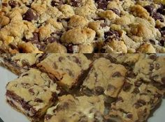 Chocolate Chip Cookie Cheesecake Recipe 4 | Just A Pinch Recipes