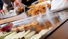 How to Cook With Hibachi Grill? Hibachi Grill Table - Cookeryaki