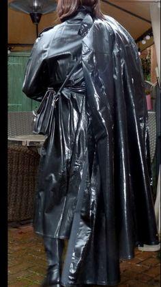 Pvc Coat, Victorian, Fashion, Woman, Rain, Moda, Fashion Styles, Fashion Illustrations