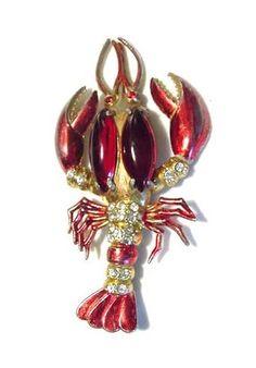 Elsa Schiaparelli. Lobster pin