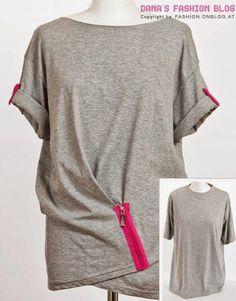 Come riciclare le vecchie magliette. Guide Per CucireProgetti Di  CucitoMotivi Per RicamiMagliette RiciclateMagliette VecchieFai Da Te Con ... 0f5badcc383