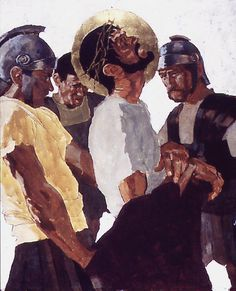 """Ben Denison, """"The Stations of the Cross"""" for St. Isaac Jogues - a Catholic Church in Niles, Illinois » leifpeng, via Flickr"""