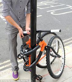 Kevin Scott / Vélo antivol / Montfort university
