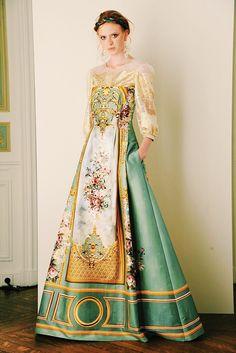 Romantic Gowns by Alberta Ferretti   ZsaZsa Bellagio - Like No Other