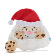 Multipart Toy! There are three removable squeaky cookies in the fluffy, crinkly beard. It's hard to keep crumbs out of that thing! Hold Me, Greed, Dog Toys, More Fun, Your Dog, Pup, Hello Kitty, Cookies, Products