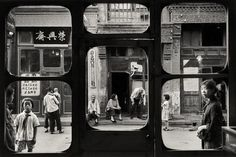 William Klein 10 - fragments make you focus on certain parts of the picture more heavily #windows