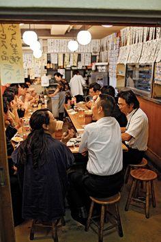Seating inspiration from a hidden little Izakaya, Tokyo. Japanese Bar, Japanese Culture, Japanese Ramen Restaurant, Photography Poses, Street Photography, Akira, Ramen Shop, Noodle Bar, Japan Street