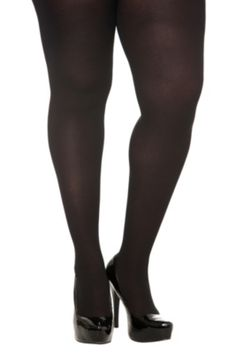 Black Opaque Tights. Every girl should have a pair. Despite the reviews on this particular pair, they work just fine for me!