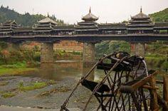 Puente de Chengyang, Sanjiang, China.