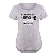 IH Quality - Women's Plus Scoopneck T-Shirt - Heather Grey