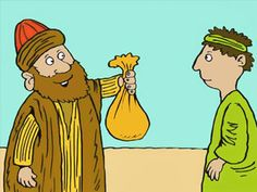 He then took the rest of the money and brought it to Peter and the other apostles. 'I am giving all the money I got from the sale of my field to God,' said Ananias. But God told Peter otherwise. Ananias And Sapphira, Acts 5, Bible Pictures, We Are A Team, Go Online, Christianity, This Is Us, Illustration, Rest
