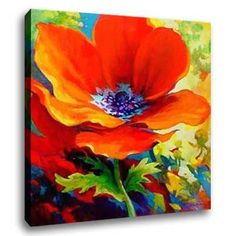Easy+Canvas+christmas+Painting+Ideas | Flower Oil Painting
