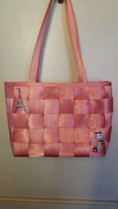 Pink-Large Tote, per Lacey,  2004