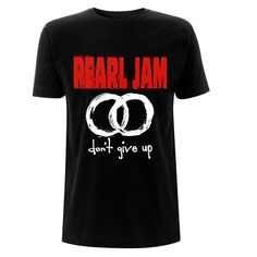 Backstreetmerch | Don't Give Up (Black) | Pearl Jam