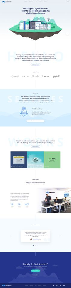 """Check out my @Behance project: """"Land of Web 2017"""" https://www.behance.net/gallery/48726059/Land-of-Web-2017"""