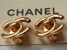 A personal favorite from my Etsy shop https://www.etsy.com/listing/230306886/vintage-chanel-gold-clip-on-earrings