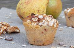 muffins-vegetaliens-poires-noix :  http://cocotte-et-biscotte.fr/petits-muffins-poires-noix-base-de-gateau-au-yaourt-tout-vegetal/