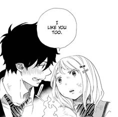 Rin and Shiemi, Ao no exorcist. This is love ♥