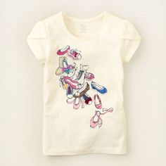 girlie graphic tee