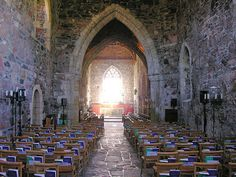 Iona Abbey, Iona, Scotland... most spiritual place I've ever been.