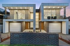M Cubed Architects - Sydney Duplexes, Designer Houses, Townhouses - Sutherland Shire, Georges River, Bayside Row House Design, Duplex House Design, Apartment Design, Modern House Design, House Layout Plans, Duplex House Plans, Modern House Plans, Studio Apartment Floor Plans, Architects Sydney