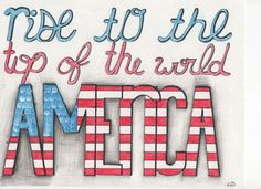 American america dont you cry. lift me up give me strength to press on.-Imagine Dragons