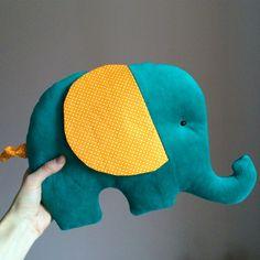 Elephant pillow. Подушка слоник