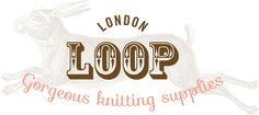 Loop logo with rabbit background