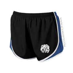 Monogrammed Running Shorts - Royal – Ace & Ivy