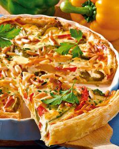 Vegetarische Paprika-Tarte mit Ricotta: http://kochen.bildderfrau.de/rezepte/rezept_paprika-tarte-mit-ricotta_231433.aspx  #vegetarisch