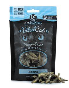 Holistic Cat Treats Freeze-Dried Vital Minnows Treats