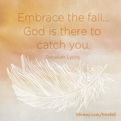 Freefall to Fly Bible study by Rebekah Lyons Faith Scripture, Bible, Art Quotes, Inspirational Quotes, Beth Moore, Daughters Of The King, Ministry, Cool Words, Authors