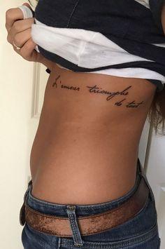 """""""L'amour triomphe de tout"""" love conquers all"""
