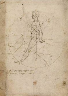 Leonardo da Vinci and the Codex Huygens - fol. 16 - The Morgan Library & Museum Online Exhibitions - Perspective