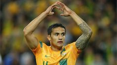 Tim Cahill, Australian centre back who plays for NewYork RedBulls, in MLS. He has also played for Australia, and has played for Samoa U-20. He was for eight year, a Everton's footballer.