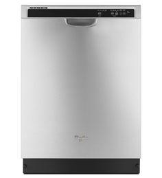 Dishwasher with AnyWare™ Plus Silverware Basket Whirlpool WDFE520PADM Stainless Steel Dishwasher