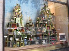 Christmas gift trees, pinned by Ton van der Veer