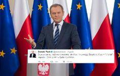 Ten wpis Donalda Tuska bije rekordy na Twitterze. Były premier w swoim stylu podsumował ostatnie wydarzenia - Obieg.net