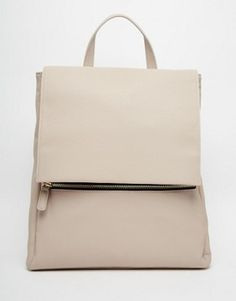 Buy ASOS Zip Front Square Backpack at ASOS. With free delivery and return options (Ts&Cs apply), online shopping has never been so easy. Get the latest trends with ASOS now. Rucksack Bag, Backpack Bags, Asos, Grey Backpacks, Casual Backpacks, Square Backpacks, Best Handbags, Best Bags, Purses And Bags