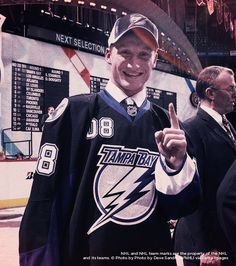 Bolts Win Lottery | April 7, 2008 – The Lightning win the NHL Draft Lottery for the first time in franchise history, paving the way to select Steven Stamkos with the first overall pick. Tampa Bay had the best chance of winning the lottery at 48.8 percent after earning 71 points the previous season.