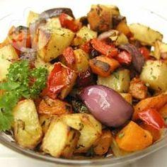 Legumes assados com ervas @ allrecipes.com.br