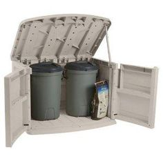 Trash Can Storage Container