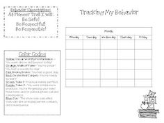 Tracking Behavior FREEBIE! Love this method- makes the students so accountable! Check it out!