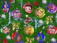 Betty Boop Pictures Archive: Christmas wallpapers with Betty Boop