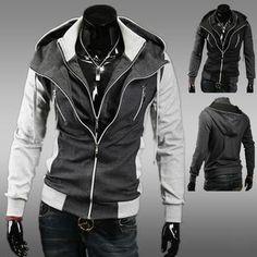Layer-Placket Hooded Jacket from #YesStyle <3 MR.ZERO YesStyle.com