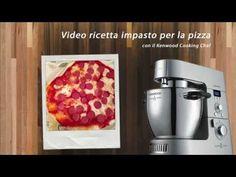♨ VIDEO RICETTE KENWOOD Impasto base pizza con Kenwood Cooking Chef - YouTube