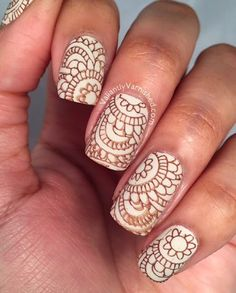 Valiantly Varnished: Born Pretty Store Stamping Plates Review and Nail Art