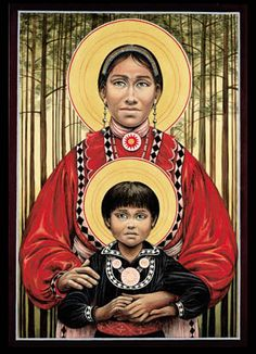 Chahta Madonna and Child