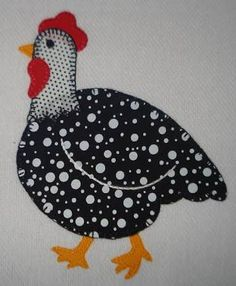 GALLINITA./////          Resultado de imagem para risco gratis de galinha para patchwork